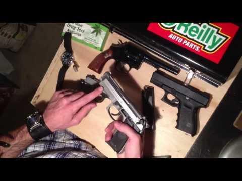Beretta 92FS Compact L Inox M9A1 and Glock 19