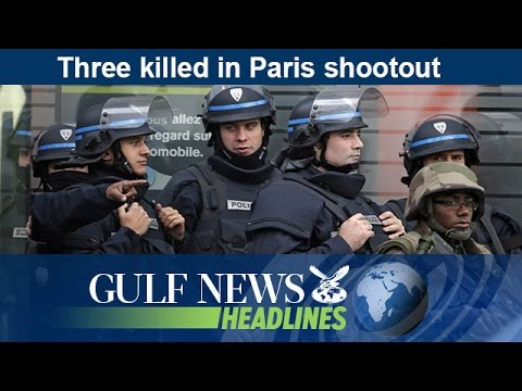 Three killed in Paris shootout - GN Headlines