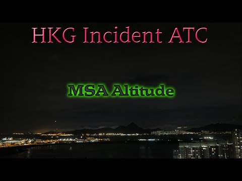Incident Atlas 747-8 at Hong Kong Airport turn after takeoff