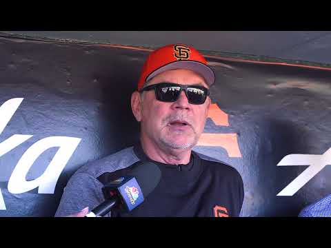 Bochy details roster moves as Joe Panik returns to lineup