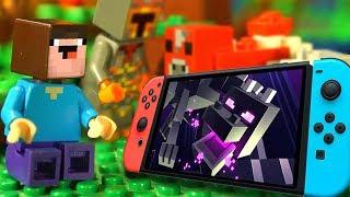 НУБ МАЙНКРАФТ против Nintendo Switch ЧЕЛЛЕНДЖ - Лего Мультфильмы LEGO Мультики Видео для Детей