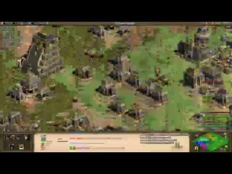 Aoe2: Black Forest Tips, Tricks, Strategies (4v4, Aztecs) (Part 2/2)