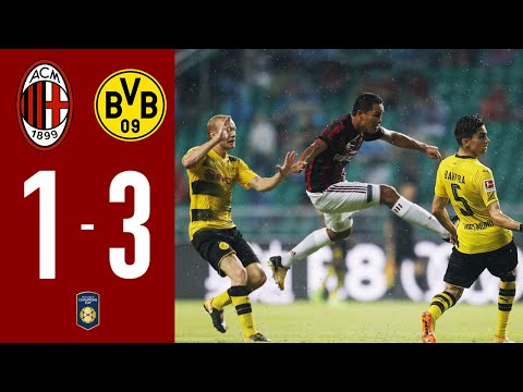 AC MILAN 1-3 BVB DORTMUND | All goals & Highlights 18.07.17 International Friendly Game | MilanActu