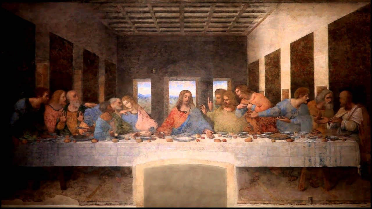 Jesus Christ Wallpaper Hd Il Cenacolo Di Leonardo Da Vinci Youtube