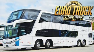 Onibus de Dois Andares no Euro Truck 2
