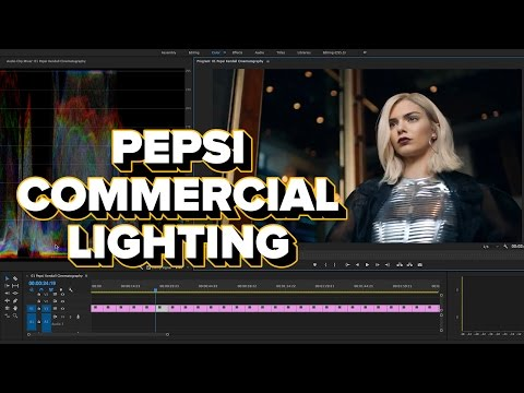 Learning Cinematography from the Kendall Jenner Pepsi Commercial