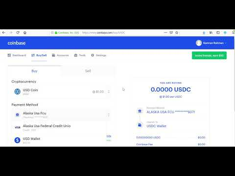 How To Use Your Coinbase USDC Wallet