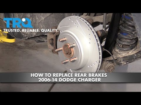 How to Replace Rear Brakes 2006-14 Dodge Charger