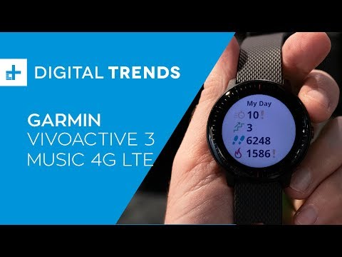 Garmin VivoActive 3 Music 4G LTE - Hands On at CES 2019