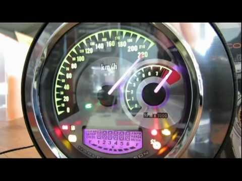 Harley-Davidson og Speedo/Tach Combo - YouTube on