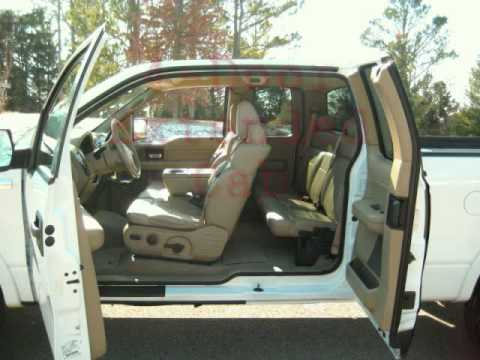 2005 ford f150 lariat 4x4 extended cab white youtube. Black Bedroom Furniture Sets. Home Design Ideas
