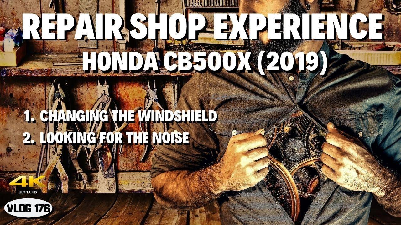 Repair Shop Experience - Honda CB500X (2019) - VLOG176 [4K]