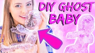 DIY Halloween Pranks and Hacks Tested!! GHOST BABY!!