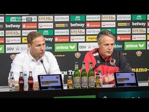 33. Spieltag | AUE - SGD | Pressekonferenz vor dem Spiel