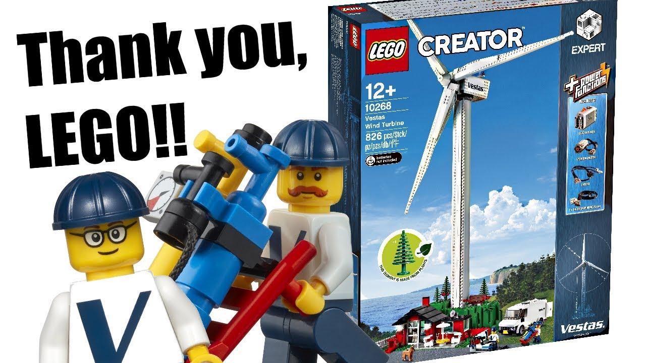 LEGO Creator Expert Wind Turbine - Return of a MOST WANTED set!