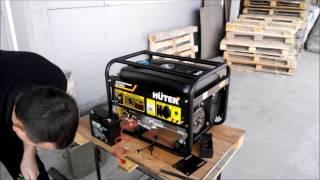 Электрогенератор HUTER DY 3000LX Распаковка нового генератора и Обзор