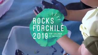 Rocks Forchile 2019 の開催にむけて、昨年楽器を寄贈させて頂いた 児童...
