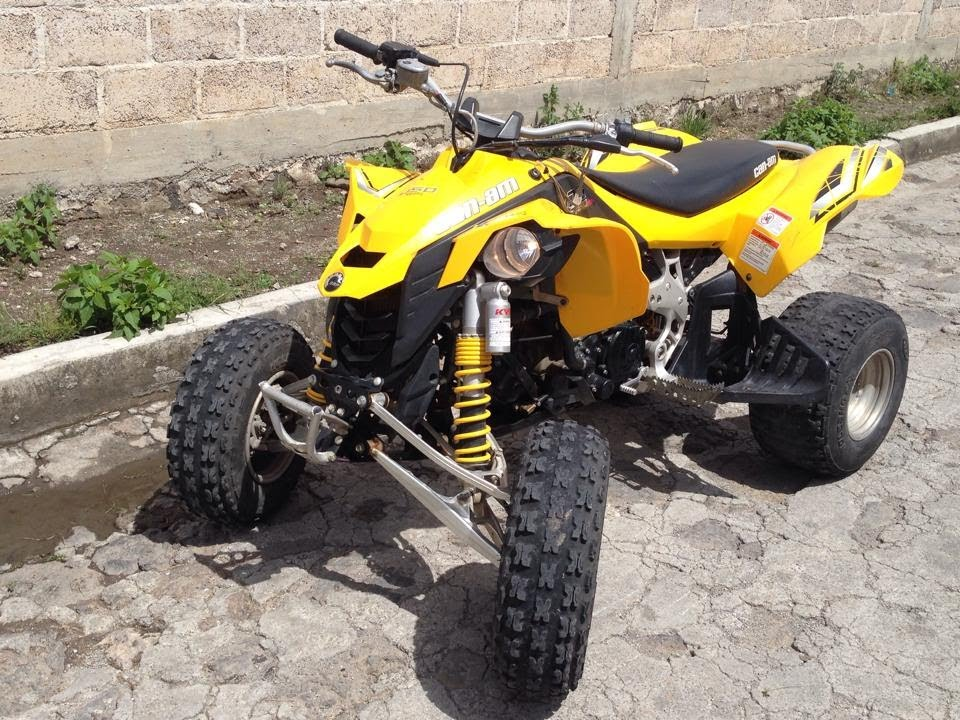 Can Am DS 450 EFI - YouTube