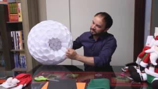 Faça Boneco de Neve Usando Copos Descartáveis – Decoração