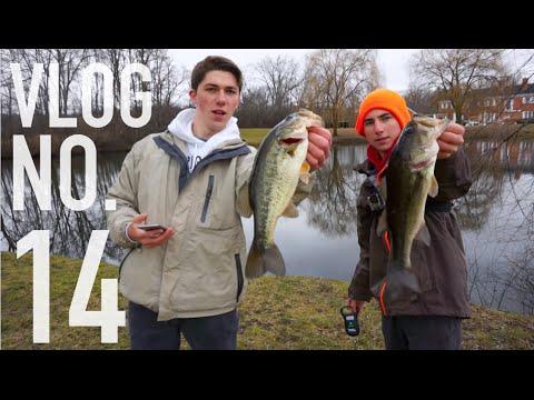 Pond Bass Fishing With Grubs -- VLOG # 14