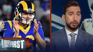 Rams proved they are sold on Jared Goff with new contract — Nick Wright | NFL | FIRST THINGS FIRST
