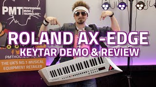 Roland AX-Edge Keytar - The Ultimate 80's Review & Demo