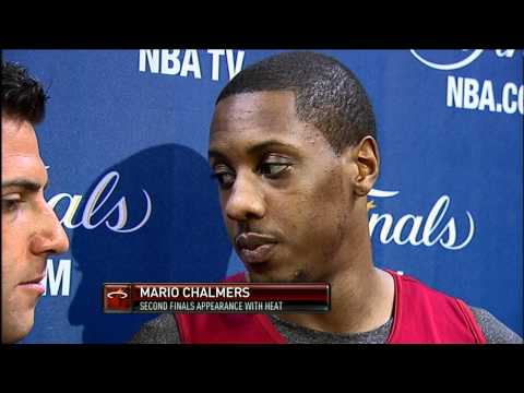 Mario Chalmers Talks about Winning a Title