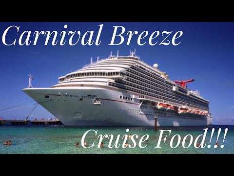 Carnival Breeze: Cruise Food... So. Many. Food. Options!
