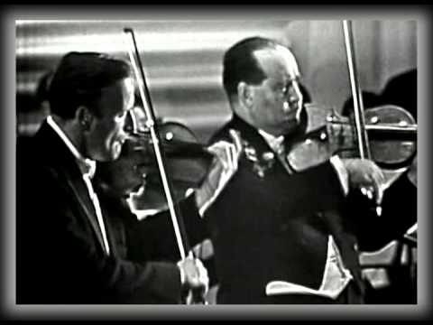Bach Double Violin Concerto - Yehudi Menuhin And David Oistr