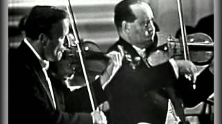 Bach Double Violin Concerto - Yehudi Menuhin And David Oistrakh (sound HQ)