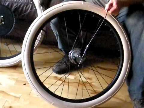 Sturmey Archer XL-FD Front Drum Hub 36h Bicycle Mechanical Drum Brake