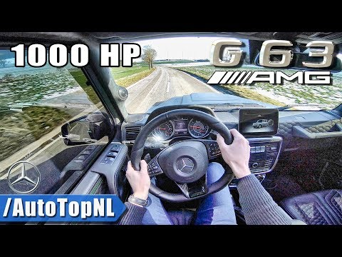 1000HP MERCEDES G63 AMG By GAD Motors | STRAIGHT PIPE | POV Test Drive By AutoTopNL