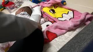 육아Vlog 6개월 아기 낮잠 눕히기