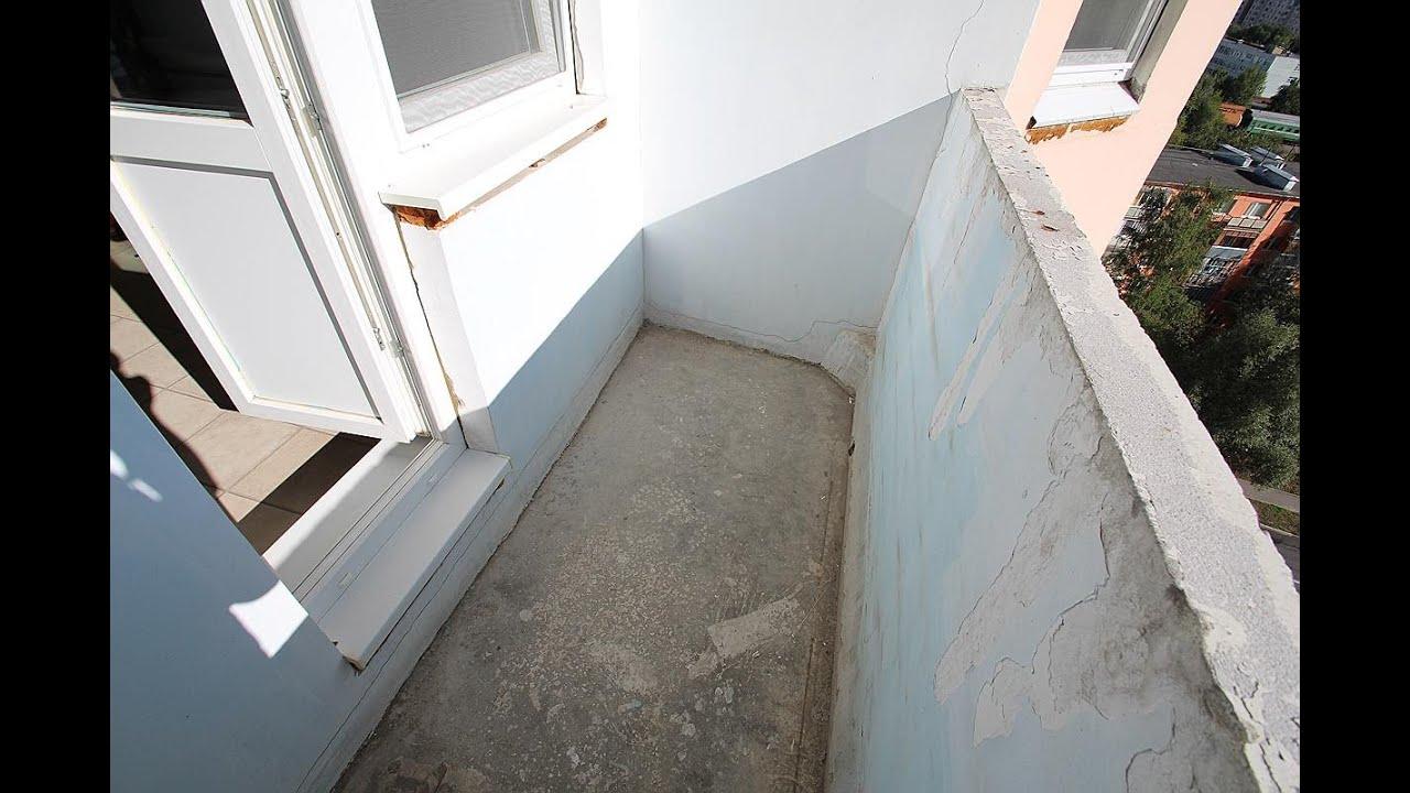 Максимус окна - ремонт типовой лоджии в девятиэтажном доме -.