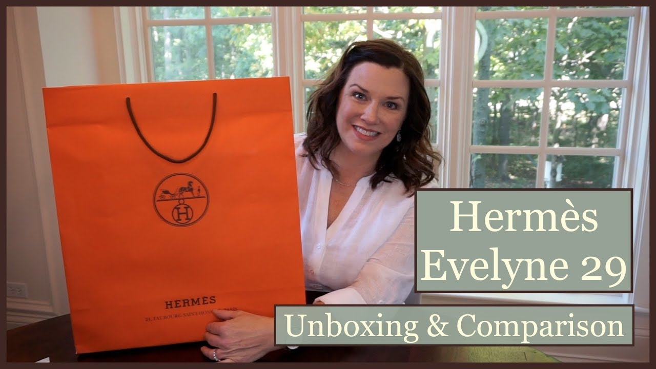 my fake hermes evelyne from aliexpress - YouTube