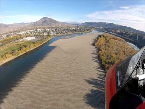 31. Flying Kamloops, North Ridge and Sand Bars, Oct., 28, 12