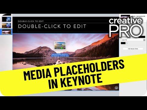 Create Media Placeholders in Keynote ft. Erica Gamet // CreativePro Tutorial