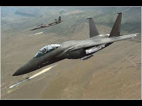 Boeing F-15 Silent Eagle Hunting and Shooting Down SU-35