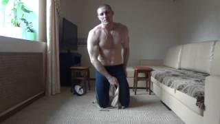 Как накачать пресс   Упражнения для пресса   убрать живот и бока     тренировка № 14(Данное видео входит в состав кратких курсов по укреплению мускулатуры, тренировок в домашних условиях,а..., 2013-06-26T14:02:21.000Z)