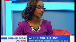 Group CEO, David Gatende interview on KTN on World Water Day
