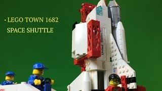LEGO NASA Space Shuttle set 1682 Classic Town from 1990!