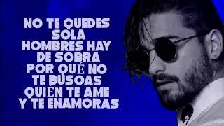 Maluma - El Préstamo (Video Lyrics) | Reggaeton 2018