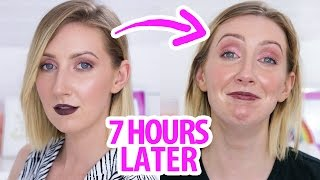 Testing NEW MAKEUP - How Long Does It Last? | Full Face of First Impressions