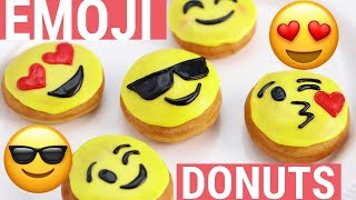 HOW TO MAKE EMOJI DONUTS - NERDY NUMMIES thumbnail