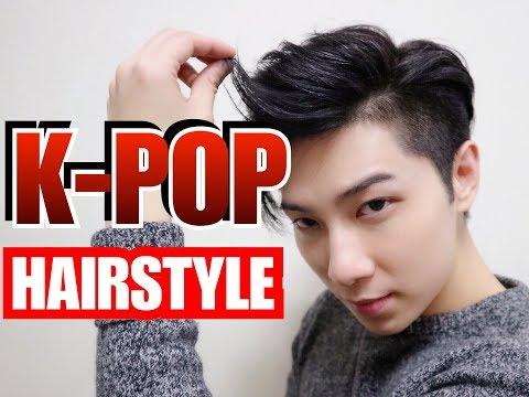 'k-pop-star-style'-|-comma-hair-|-men-'s-hair-2019-|-two-block-cut-|-tutorial-|-韓風造形-|issac-yiu