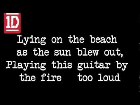 Rock Me - One Direction (Lyrics)