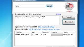 How to download videos from youtube with Fast YTD