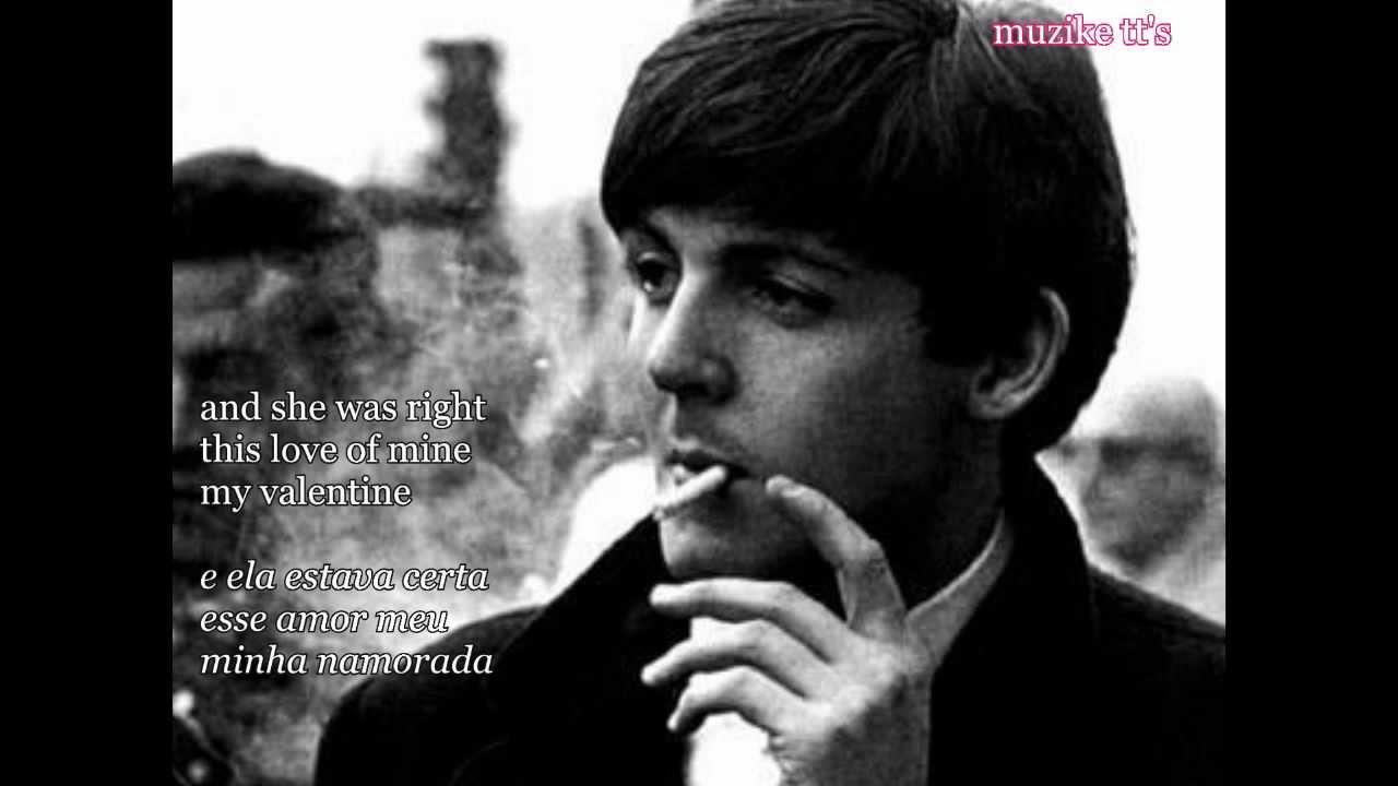 Paul McCartney My Valentine TraduzidoLyrics PT BR
