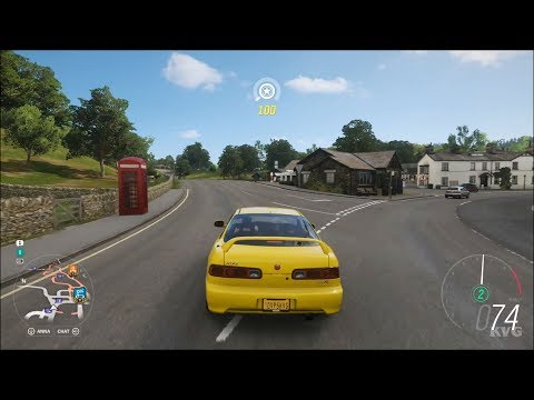 Forza Horizon 4 - Acura Integra Type-R 2001 - Open World Free Roam Gameplay (HD) [1080p60FPS]