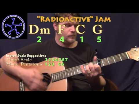 Radioactive Jam - 2415 In C Major - Acoustic Guitar Instrumental